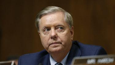 Republican Senator Lindsey Graham says President Biden can no longer be regarded as a moderate.