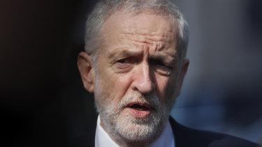 No support: British Labour leader Jeremy Corbyn.