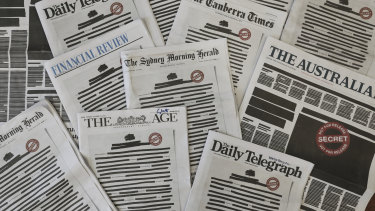 Media organisations have campaigned for legal reforms to protect press freedom.