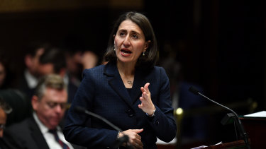 """I want NSW to continue to be seen as the magnet for human talent"": Gladys Berejiklian."