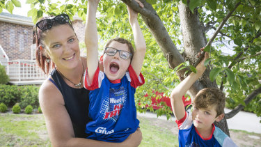 The Wallaces are gearing up for the Sanitarium Weet-Bix Kids TRYathlon in February,