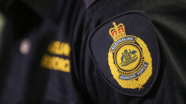 Australian Border Force staff numbers have been cut in the lead up to Christmas.
