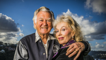 "Blanche d'Alpuget, whom Bob Hawke described as ""the love of my life"" together in 2003."
