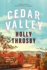 Holly Throsby will be speaking about Cedar Valley at the Sydney Writers Festival.