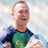 Canberra coach Ricky Stuart is old ... but not that old.