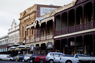 Ballarat's population has been growing quickly in recent years.