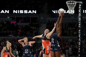 The Giants beat the Vixens for the first time in 1092 days on Sunday.