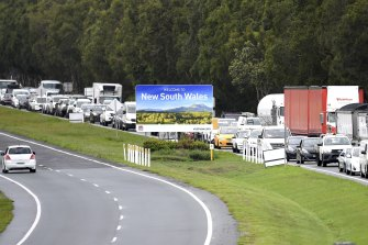 New South Wales has effectively ended Queensland's border bubble.