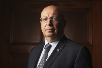French ambassdor to Australia Jean-Pierre Thebault says there has been a breach of trust between the two countries.