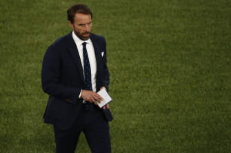 Gareth Southgate's spotted tie is a hit.