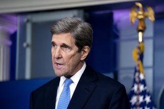 US climate envoy John Kerry.