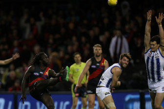 Anthony McDonald-Tipungwuti starred for the Bombers against North.