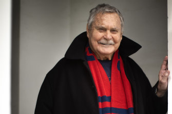 Ron Barassi is feeling everything that other Melbourne supporters are feeling in the lead-up to the grand final.
