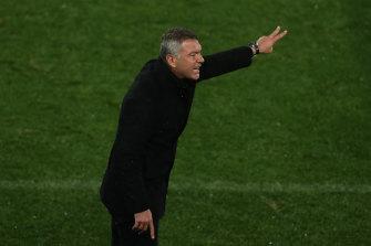 Western United coach Mark Rudan.