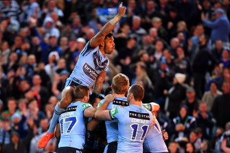 The ban is also set to hit NRL's multi-million dollar cash cow State of Origin, with experts warning the first game on June 3 will likely need to be crowdless.