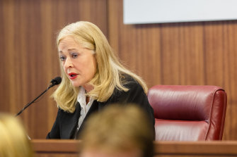 Commissioner Margaret McMurdo, who is leading the royal commission into management of police informants.