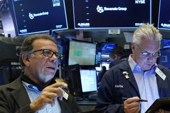 Wall Street finished in the black despite an uncertain start to the session.
