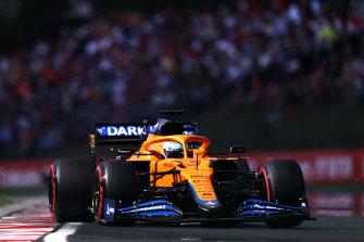 Daniel Ricciardo has had a bumpy first season with McLaren.
