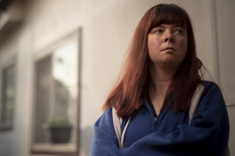 """""""I just want an opportunity."""": Sinead Simpkins said she applies for up to 30 jobs per week."""