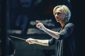 Nicolette Fraillon, music director and chief conductor at The Australian Ballet.