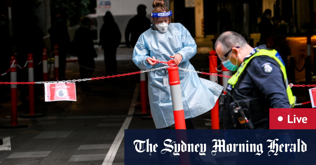 Australia news LIVE: Further arrests expected in Operation Ironside; Victoria's COVID-19 restrictions on track to ease – The Sydney Morning Herald