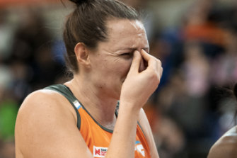 Sam Poolman broke her nose in the clash earlier this year.