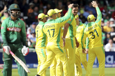 Australia wins, but not without a scare from Bangladesh - and criticism from Warnie
