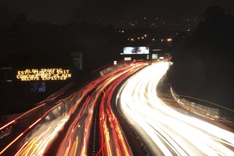 The on-ramp lights are designed to improve traffic flow along the M4 motorway.