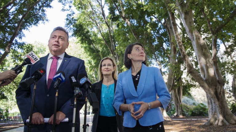 Planning Minister Anthony Roberts said free trees would be given to people building new homes through the complying development approval process in western Sydney.