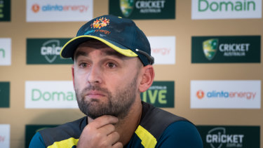 Well-earned rest: there is talk Nathan Lyon could be rested from the ODI tour of India despite the spin-friendly conditions.