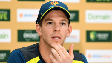 Tim Paine has captained the Australian cricket team in five matches.