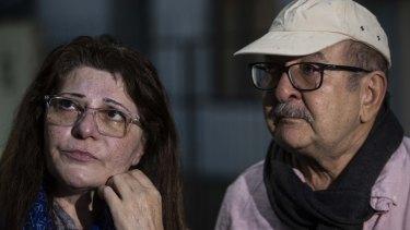 Janna Ezat and Hazim Al-Umari are desperately waiting for news of their son Hussain.