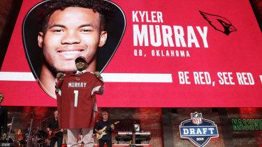 NFL draft: Arizona Cardinals choose Kyler Murray as No 1