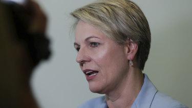 Shadow Minister for Education and Training Tanya Plibersek.