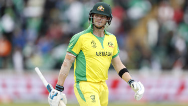 Steve Smith is still searching for a match-winning innings at the World Cup.