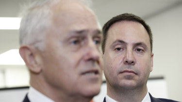 Prime Minister Malcolm Turnbull and Minister for Trade, Tourism and Investment Steven Ciobo  on Wednesday.