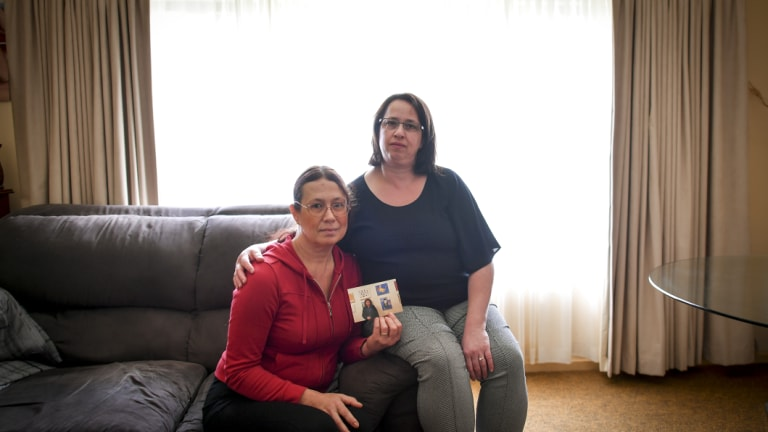 Sonia and Linda Berton had to put their adult sister into a hotel when she left psychiatric hospital because there was no supported accommodation.