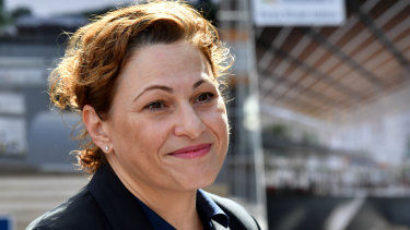 Queensland Deputy Premier Jackie Trad announced a new contract had been signed for Cross River Rail on Monday.