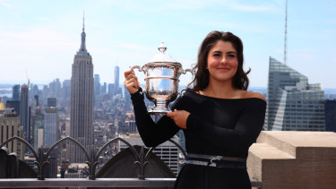 US Open champion Bianca Andreescu is the first Canadian to ever win a singles major.