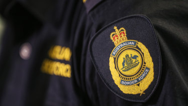 An Australian Border Force officer has died on board a vessel in the Torres Strait.