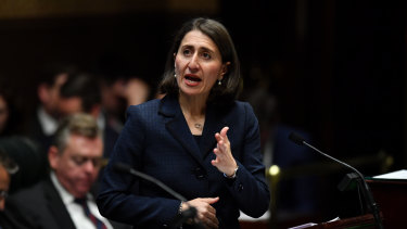 """""""I want NSW to continue to be seen as the magnet for human talent"""": Gladys Berejiklian."""