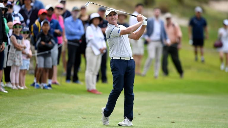 Canberra golfer Matthew Millar finished equal fifth in the Australian Open - his best finish there.