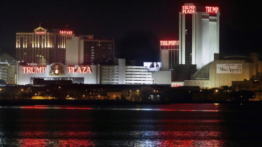 The Trump Plaza in Atlantic city is set to be demolished in January.