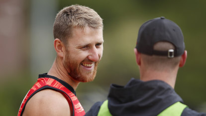 Happy under Heppell: Bombers name leadership group