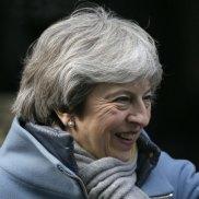 Theresa May, UK prime minister