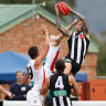New-look Saints show poise to hold out the Magpies