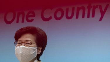 Carrie Lam, Hong Kong's chief executive