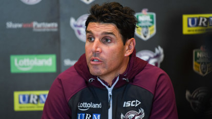 Legal Eagles: Forget Hasler, Barrett backers say only he can coach Manly