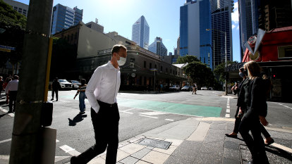 Masks stay on in Brisbane for another week despite no new local cases