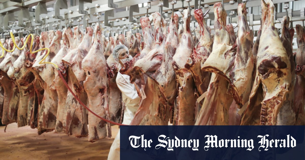 Australia's largest meat processor shut down by cyber attack – The Sydney Morning Herald